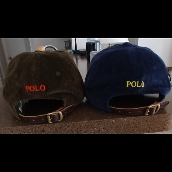 988285181 2 VTG Polo country collection hats leather straps!  M 5b2ed7cda31c334c554f3d39